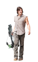 Daryl render The walking dead by twdmeuvicio