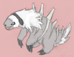 Fossil Sloth by Kyle-Dove