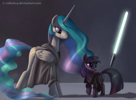 My Little Pony Star Wars by Montano-Fausto