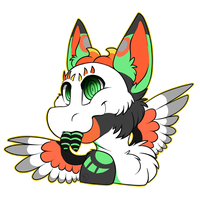 Art Trade 2/3 - Headshot by Mdragonflame