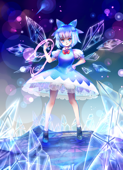 Cirno Day by Izunichi