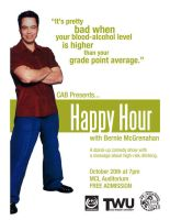 CAB Comedian Flyer by WildeGeeks
