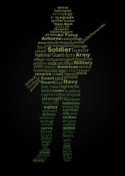 Soldier Typography by DANgerous124