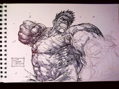 Hulk Angry by werder