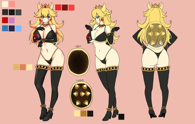 Peach Reference Sheet :COMM: by shawn1013