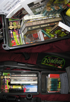 Zombie Evacuation Kit (Bug out Bag) by vonmeer