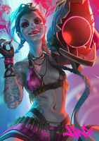 Jinx by RonnaeArt