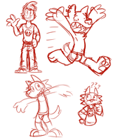 Max Doodles by Goronic