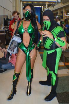 Megacon - Jade and Reptile by NekoHybrid