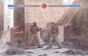They Live: Alley Fight by McQuade