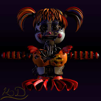 Scrap Baby WIP 2 by Lord-Kaine