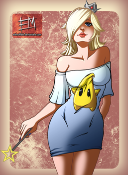 Rosalina - T-Shirt Series by EdMoffatt