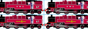 Adrian and Allison The Scottish Twin Tank Engines  by Galaxy-Afro