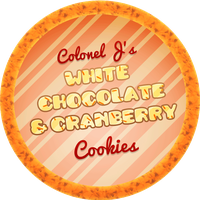 White Chocolate Cranberry Cookies by Echilon