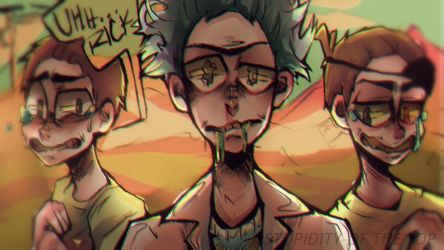 Rick and Morty by Stupidity-OfTheTop