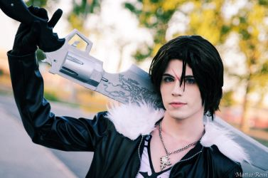 Squall Leonhart Cosplay (Dissidia Version) - Lion by DakunCosplay