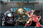 Robots Render Pack by DraghenGFX
