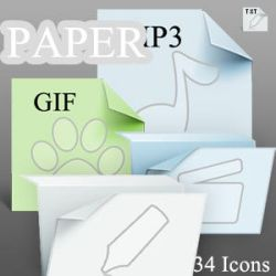 Paper Icons--ico by tea00