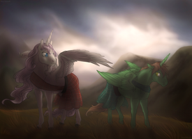 In the Scottish Highlands - Comm by Acry-Artwork