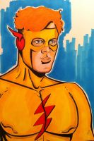 Kid Flash/ Wally West Commission by seanpatrick76