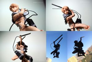 Levi - handmade full body figurine by Inatokon