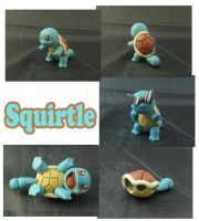 Weekly Sculpture: Squirtle by ClayPita