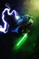 Master Yoda (overpaint) by Lotsmanov