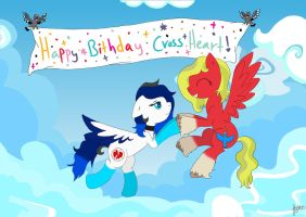 Happy Birthday Cross Heart!!! by Elmer157Typhlosion
