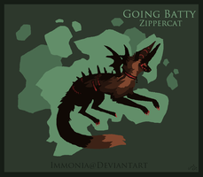 Holiday Zippercat: Going Batty [CLOSED] by Immonia