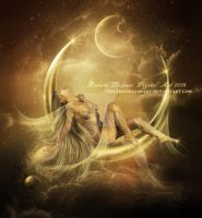 Lady of the Moonlight by ThelemaDreamsArt