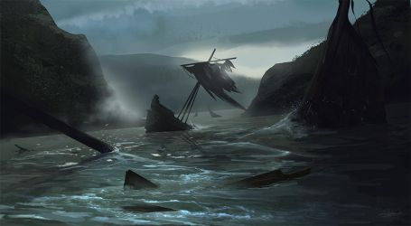 Shipwreck cove speedpaint by Suzanne-Helmigh