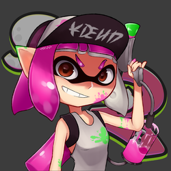 Inkling Girl by MewHipster