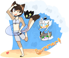 Summer! by sylveonprince