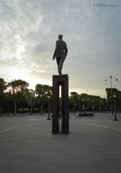Charles de Gaulle monument by EUtouring