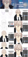 Anime Male Tutorial by Avidex