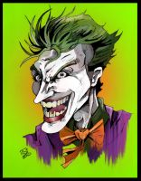 The Clown Prince of Crime by cmdelaney88
