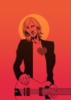 Tom Petty by bradykettle
