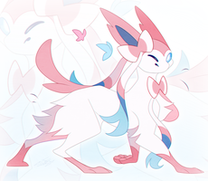 Sylveon by RiaWolf15
