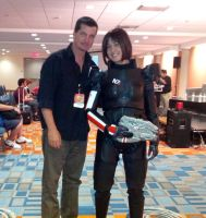Commander Shepard - Mass Effect 3 with DC Douglas by Quartknee