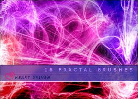 Fractal Brushes 02 by HeartDriven