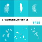 feather ai. brush set by harridan