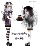 Happy Birhtday DrawKill by LittleGoa-t