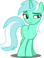 Vector #669 - Lyra Heartstrings #5 by DashieSparkle