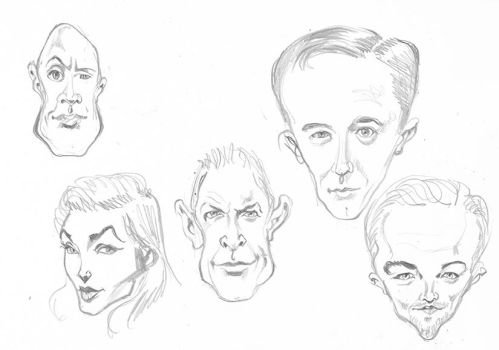Caricatures by EliseuGouveia