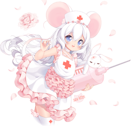 Mika Nurse by susukitten