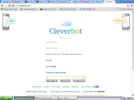 Clever bot- Contradictions Edition! by ScarlettaRose1