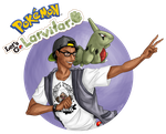 Pokemon Let's Go Larvitar by Head-of-Fades