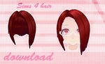 MMD SIMS 4 - Hair - [DOWNLOAD][DL] by Milionna