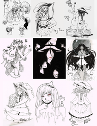 Old Inktober Things by Shikafy