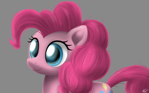 Pinkie Pie Tablet Practice by SymbianL